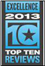 Top Ten Award Excellence 2013