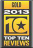 Top Ten Award Gold 2013